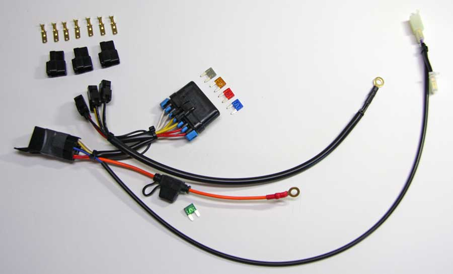 vstrom 3 circuit solution for vstrom all fuses switched 59 95