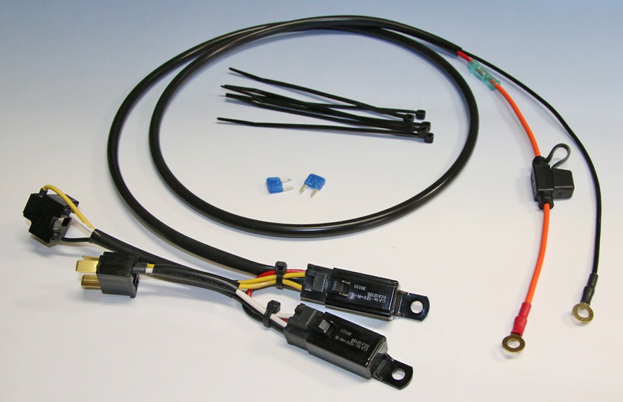 Eastern Beaver Relay Wiring Harness Kits : The dr thread page adventure rider