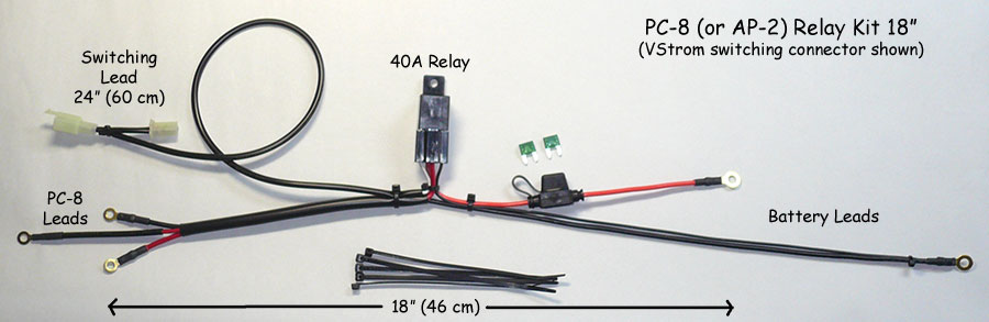 vstrom pc8 relay kit 18 vstrom