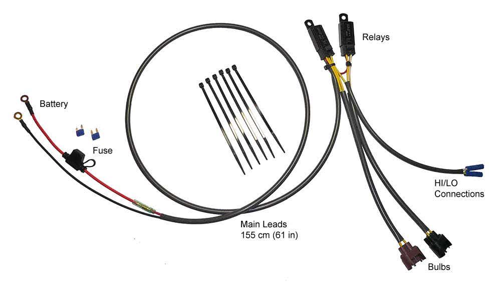 Eastern Beaver Relay Wiring Harness Kits : Non h kits